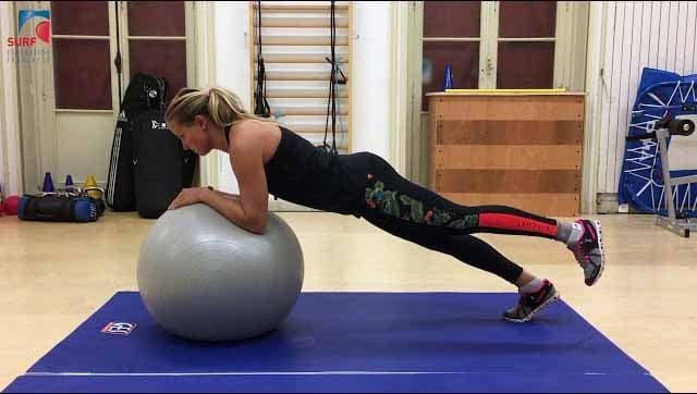 Renforcement musculaire surf pendant le confinement